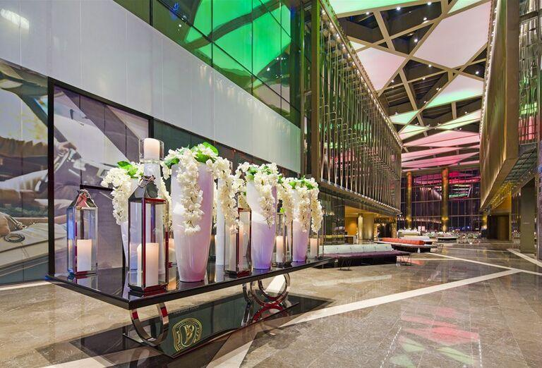 Vstupná hala v hoteli Rixos Premium Dubai