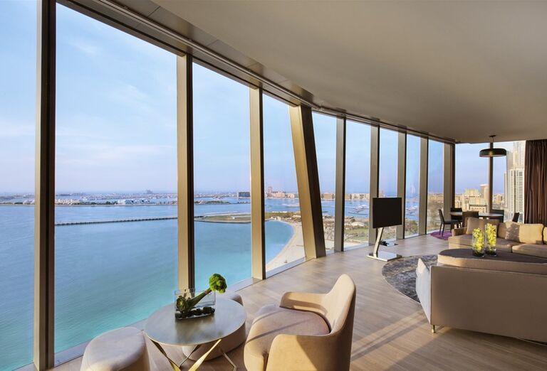 Krásny výhľad z hotela Rixos Premium Dubai