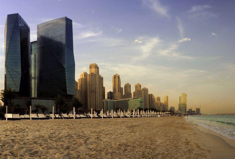 Pláž Rixos Premium Dubai