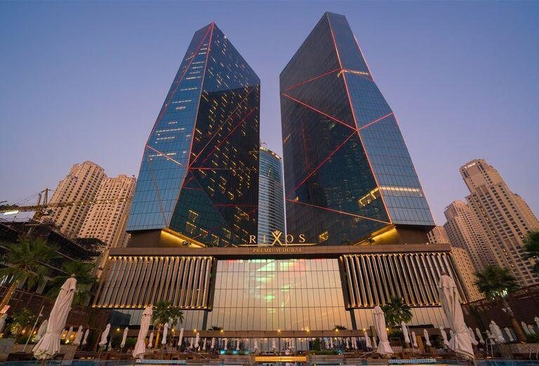 Vstup do hotela Rixos Premium Dubai