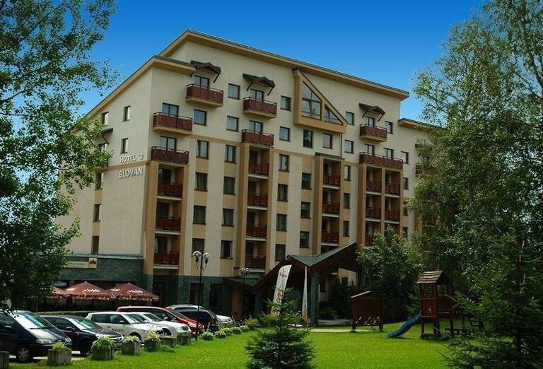Exteriér, Hotel Slovan, Tatranská Lomnica