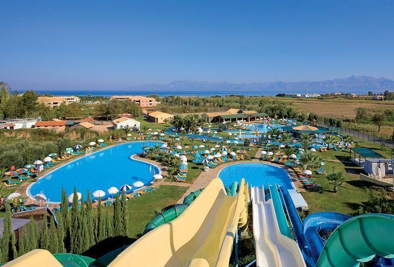 Tobogány v hoteli Gelina Village & Aquapark