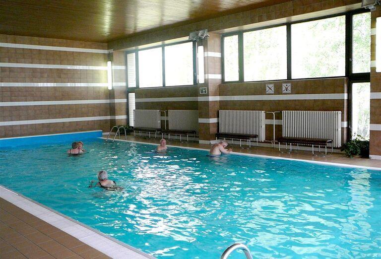 Bazén v hoteli Sorea Hutník