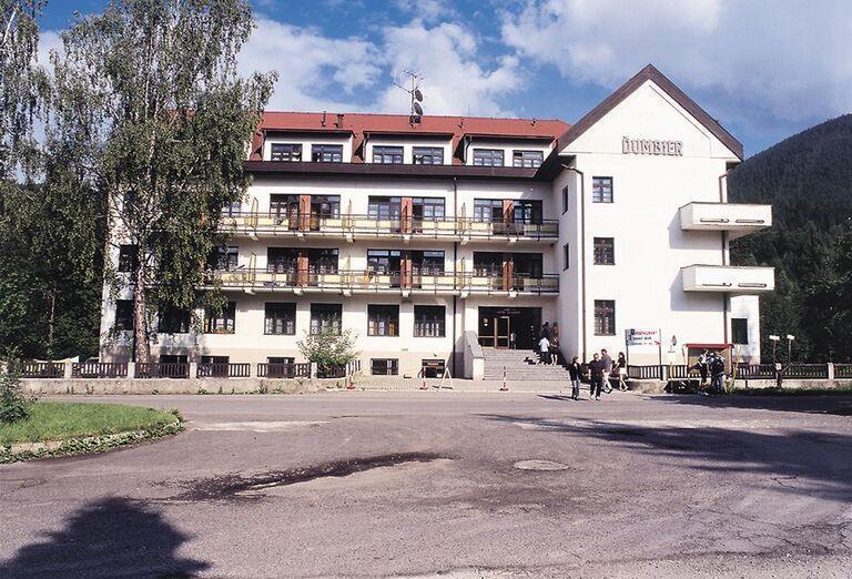 Pohľad na hotel Sorea Ďumbier