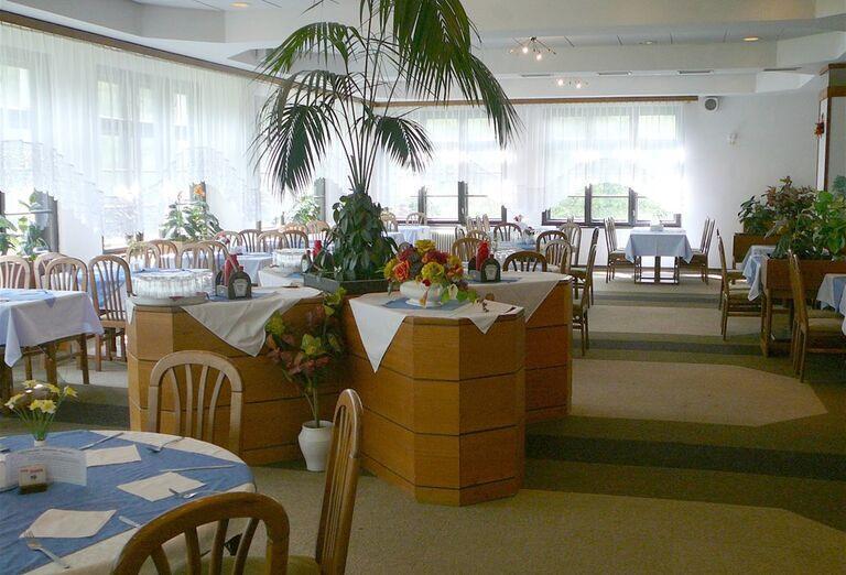 Jedáleň v hoteli Sorea Ďumbier