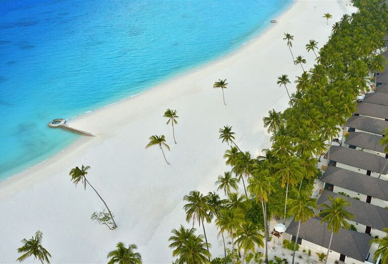 Pláž Hotel Atmosphere Kanifushi Maldives *****