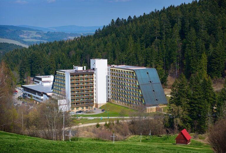 Pohľad na hotel Sorea Ľubovňa