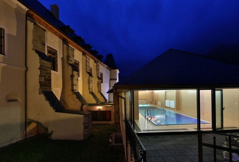 hotel grand viglaš - wellness - bazen vonkajšok