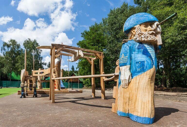 Detské ihrisko v hoteli Pod Lipou Resort