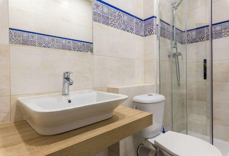 Kúpeľňa v hoteli Pod Lipou Resort