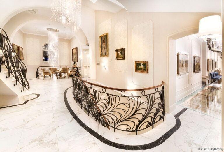Interiér hotela Lomnica
