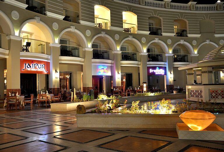 Posedenie v hoteli Sunrise Romance Sahl Hashees Resort