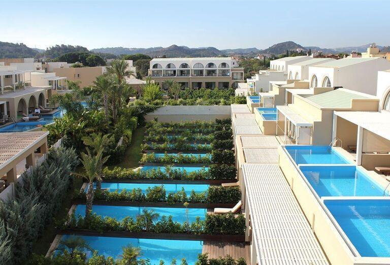Izba s vlastným bazénom v hoteli Sentido Ixian All Suites
