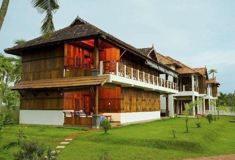 Pohľad na hotel Maiveda Ayurveda Beach Resort