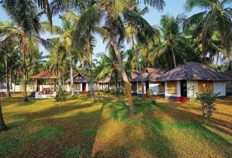 Ubytovanie v záhrade v Meiveda Ayurveda Beach Resort