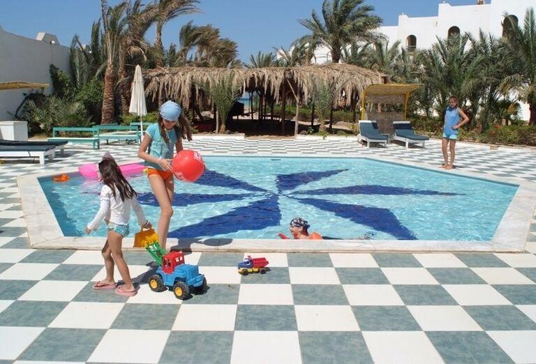 Detský bazénv hoteli Arabia Azur