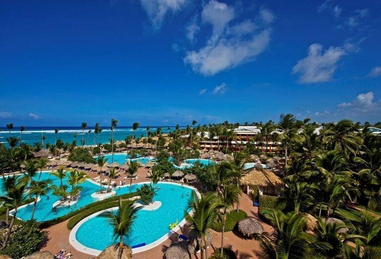 Komplex bazénov hotela Iberostar Dominicana