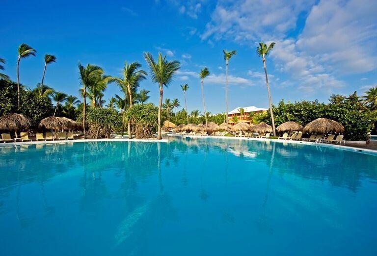 Bazén v hoteli Iberostar Dominicana
