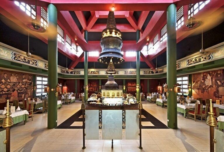 Reštaurácia v hoteli Iberostar Dominicana