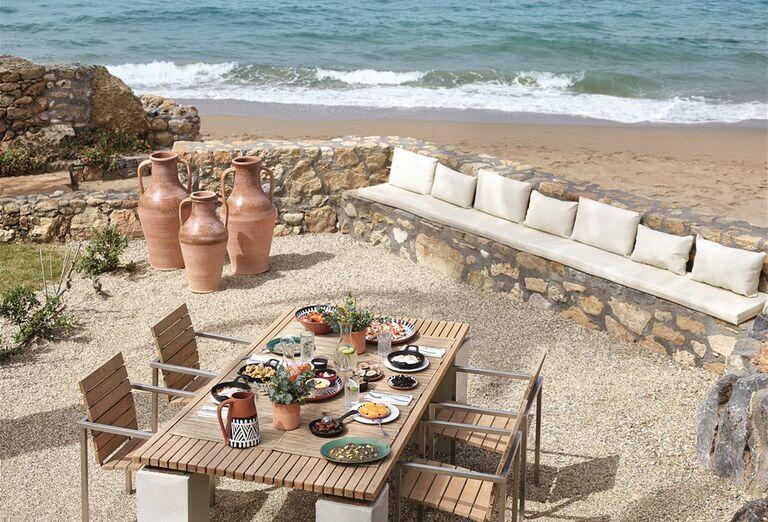 Gastronomický zážitok s výhľadom na more v hoteli Amirandes Grecotel Exclusive Resort