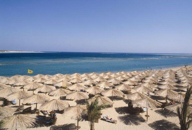 plaz, Jaz Makadi Oasis, Egypt