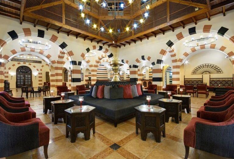 lobby, Jaz Makadi Oasis, Egypt