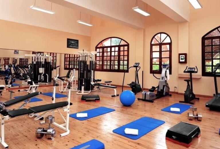 Fitness v hoteli Jaz Makadi Oasis Resort