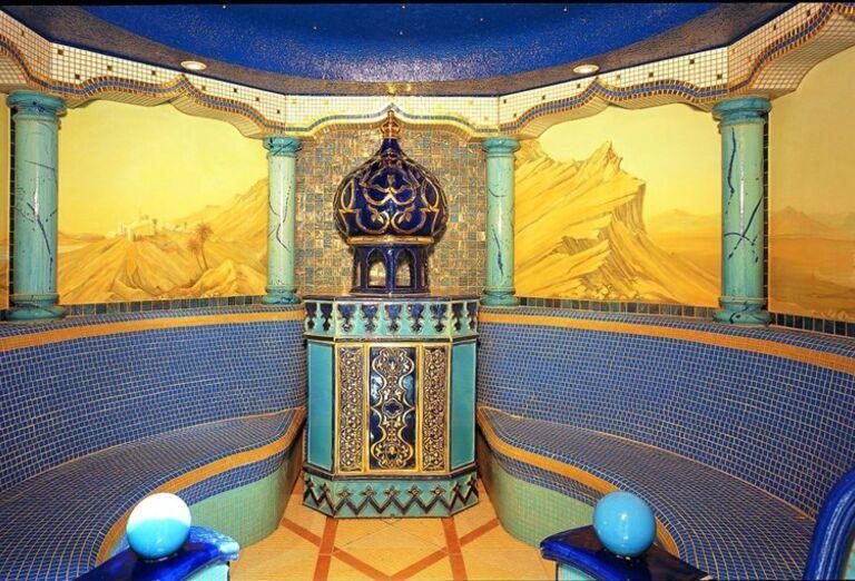 Sauna v hoteli Aphrodite