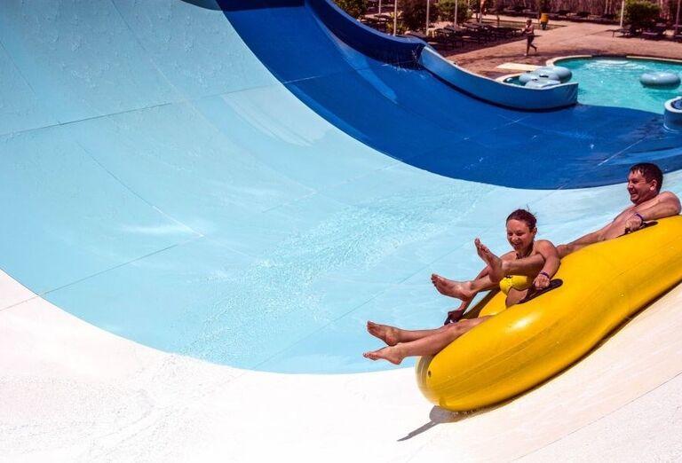 Vodný svet v hoteli Jaz Makadi Oasis Resort