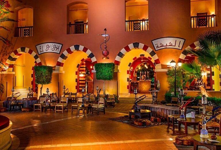 Hotel Jaz Makadi Oasis Resort ponúka využitie vodných fajok