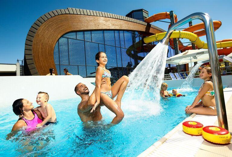 Detský bazén X-Bionic v Šamoríne.