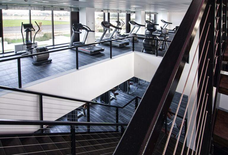 Fitness centrum X-Bionic v Šamoríne.