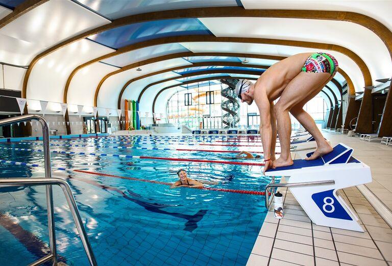 Vnútorný bazén X-Bionic v Šamoríne.