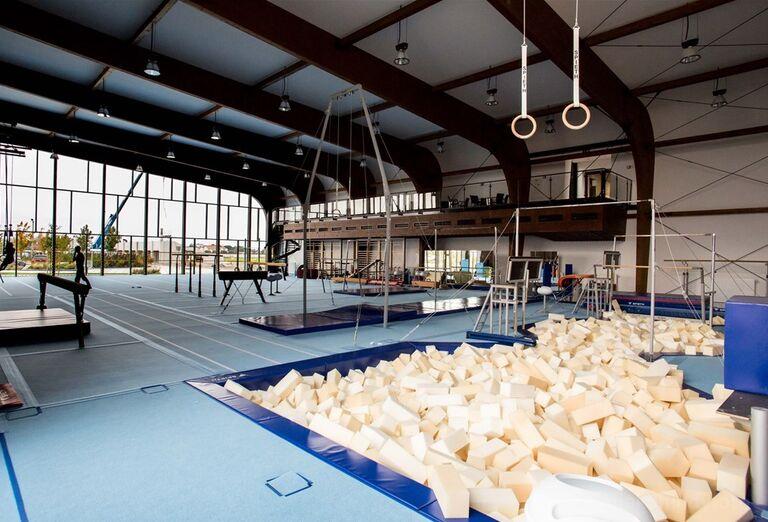 Gymnastická hala X-Bionic v Šamoríne.