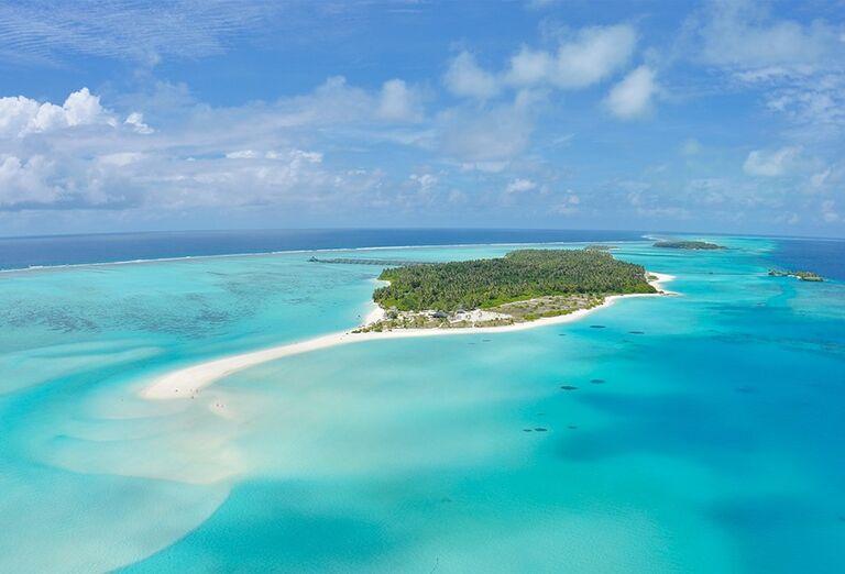 Ostrov s hotelom Sun Island Resort & Spa