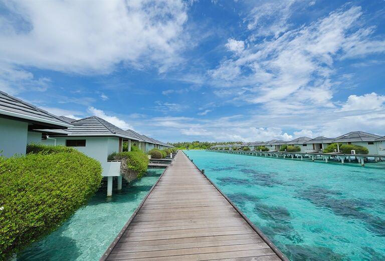 Mólo pri hoteli Sun Island Resort & Spa