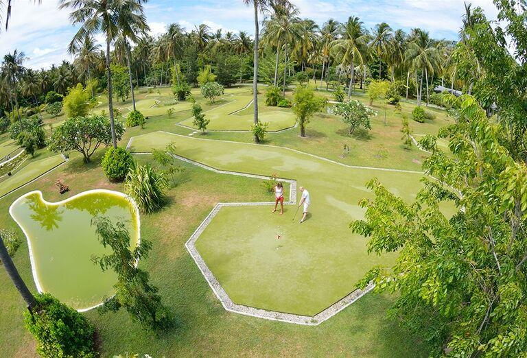 Golfové ihrisko v areáli hotela Sun Island Resort & Spa