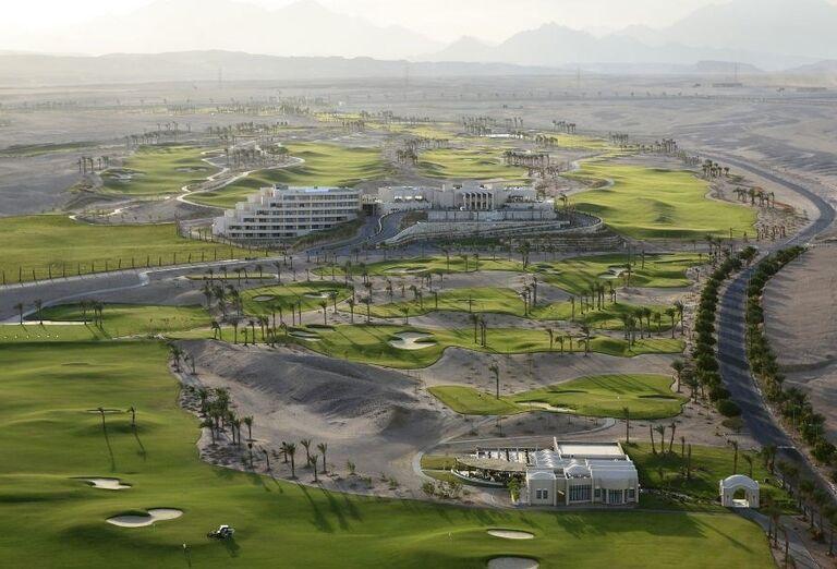golfove ihrisko Madinat Makadi, Jaz Makadina, Egypt