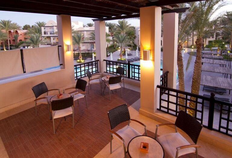 terasa baru Sultan Lounge, Jaz Makadina, Egypt