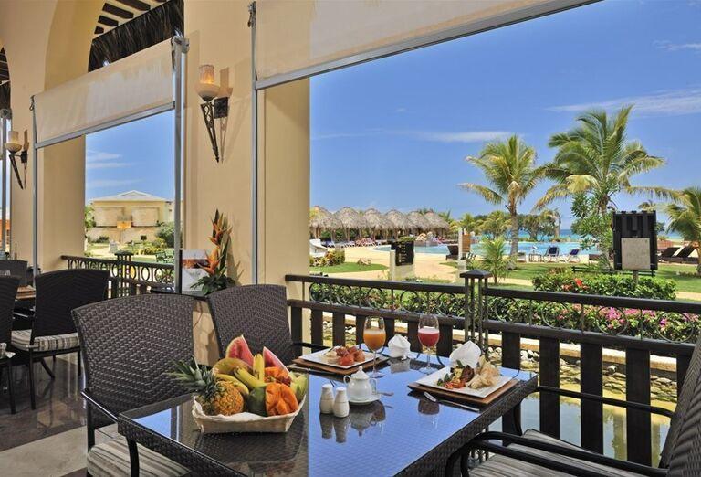 Reštaurácia s výhľadom na more v hoteli Paradisus Varadero