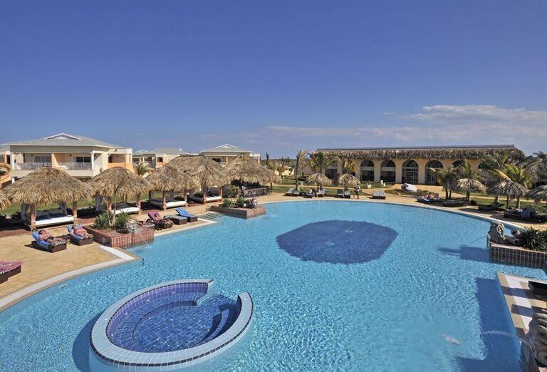 Bazén v hoteli Paradisus Varadero