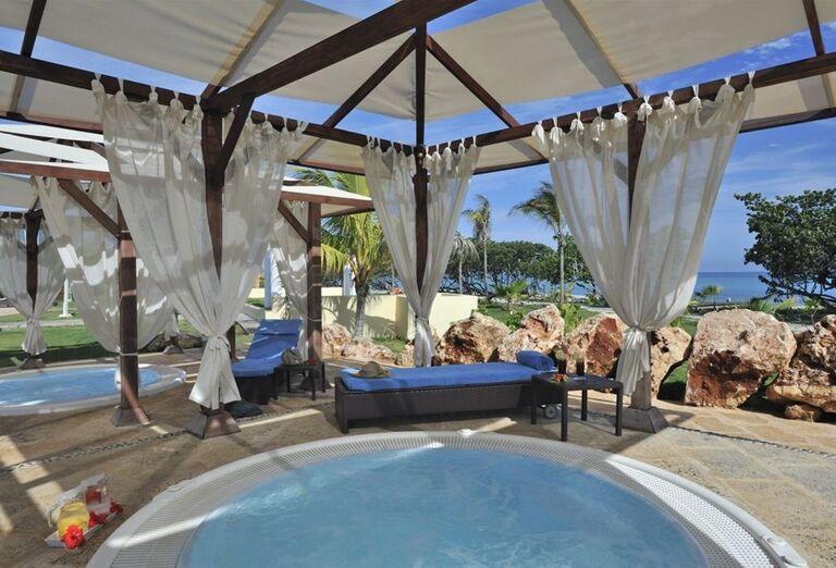Vonkajšie vírivky v hoteli Paradisus Varadero