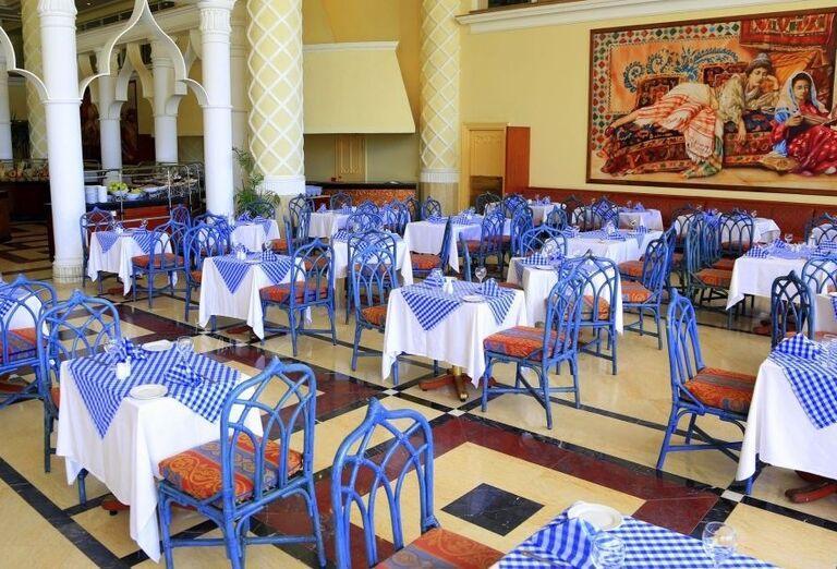 Stolovanie v hoteli Labranda Royal Makadi