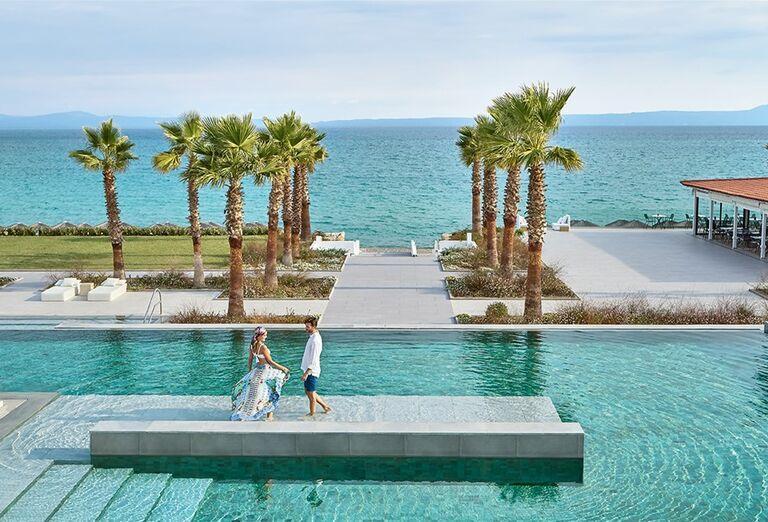 Vodný svet Hotel Grecotel Margo Bay ( ex Pella Beach Grecotel Premium ) *****