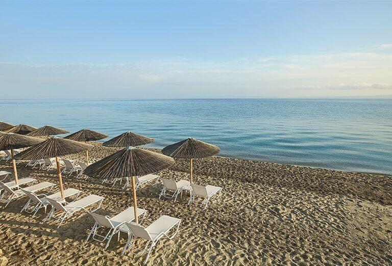 Pláž Hotel Grecotel Margo Bay ( ex Pella Beach Grecotel Premium ) *****