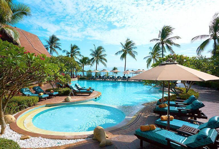 Bo Phut Resort & Spa--hotelový bazén