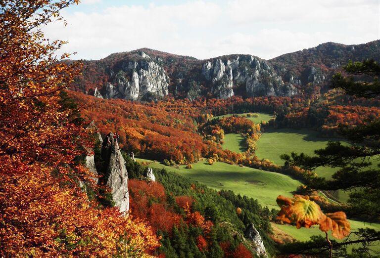 Ostatné Súľovské skaly a Lietavský hrad