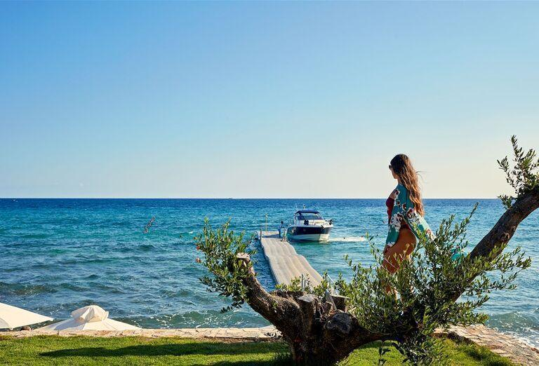 Pláž Hotel Lesante Blu Exclusive Beach Resort *****
