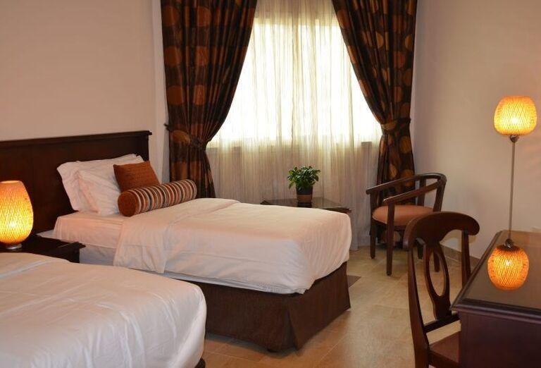 Izba v hoteli Umm Al Quwain Beach Hotel