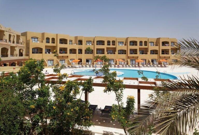 Pohľad na hotel Three Corners Fayrouz Plaza